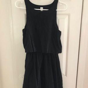 Gap black dress
